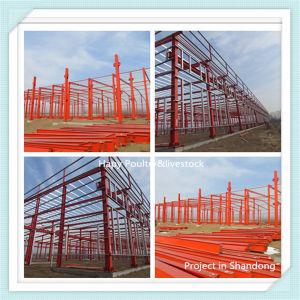 La estructura de acero de bajo coste Prebabricate Edificio/Almacén