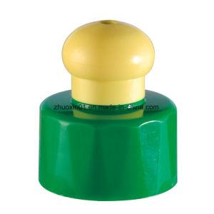 Haute qualité en plastique blanc chapeau push-pull pour les bouteilles d'eau