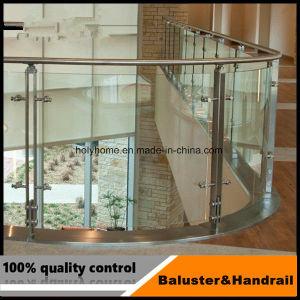 De binnen Kosten van het Traliewerk van het Glas van het Dek van het Roestvrij staal Zwarte en van het Traliewerk van de Trede van het Glas