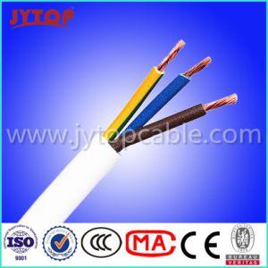 Fio eléctrico com isolamento de PVC H05VV-F 3X2.5mm 3X1.5mm