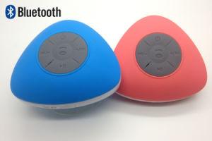 Il nuovo triangolo di vendita caldo Ipx4 impermeabilizza l'altoparlante di Bluetooth, l'altoparlante dell'acquazzone di Bluetooth, altoparlante resistente di Bluetooth dell'acqua