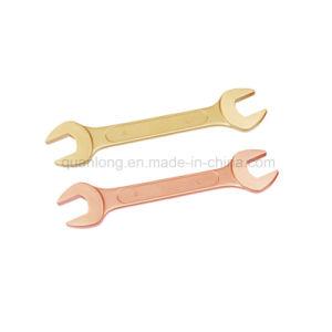 Outils à main non suscitant de clé dynamométrique extrémité ouverte de la clé dynamométrique