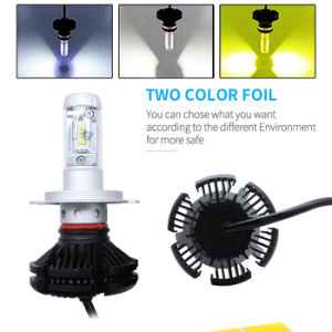 Lightech X3 H4 coche LED de luz con Automotive