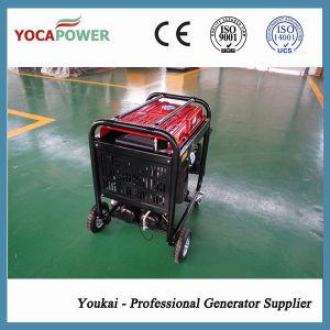 4kVA 용접공 & 공기 압축기 통합된 세트를 가진 휴대용 가솔린 발전기