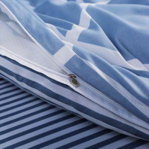 China-Fabrik-Preis druckte Microfiber Hauptgroßhandelsbettwäsche-Set