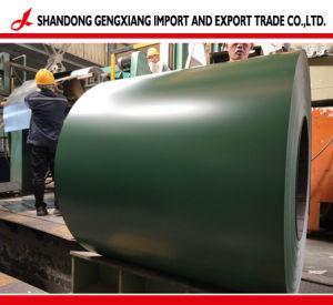 PPGI GI de l'acier prépeint bobine d'acier galvanisé recouvert de feuille de couleur