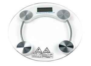S. S bas balance de pesage numérique ronde
