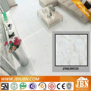 De witte Kleur Opgepoetste Verglaasde Tegel van het Porselein Marmer (JM63051D)