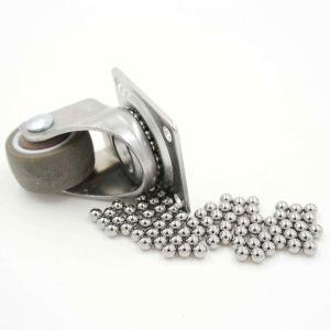 Type à bille en acier poli de surface avec une taille différente