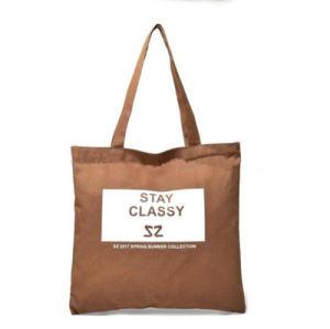 Logotipo do grossista barato promocionais Imprimir tecido durável Reciclar Calico orgânicos lona de algodão branco Saco Sacola de Compras