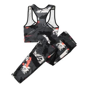 Quick-Dryレディース適性のSportwearの下着の一定のヨガセット