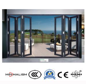 건축재료 1.2-2.0 간격 이중 문 또는 알루미늄 문 또는 알루미늄 합금 문 또는 접게된 문