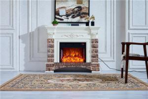 Moderno de madera buenos vendedores calentadores eléctricos chimenea con estufa de pellets de Mantel Insertar 363