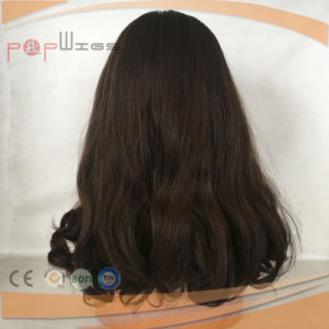 バージンの毛の女性の絹の上のかつら(PPG-l-01836)