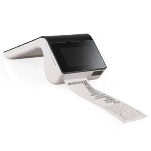 PT7003 Dispositivo Portátil Smart POS Lector de tarjetas EMV NFC Android Tpv con 1D/2D scanner impresora