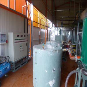 Máquina de limpieza de residuos de aceite del motor
