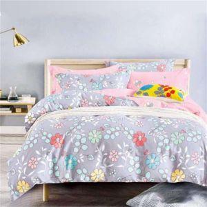 La Chine Percale exquis feuilles Ensemble de literie 100 vêtements de lit en coton