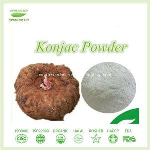 Aditivo alimenticio en polvo de glucomanano Konjac.