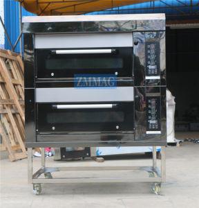 De commerciële Draagbare Apparatuur van de Keuken van het Pitabroodje van de Pizza van het Gas voor Verkoop (zmc-204M)