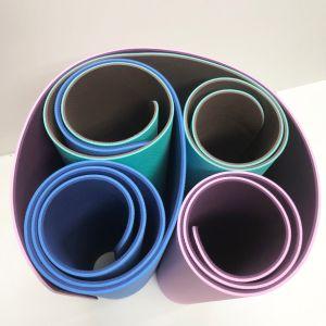 Impreso de TPE goma Eco gimnasio yoga Mat