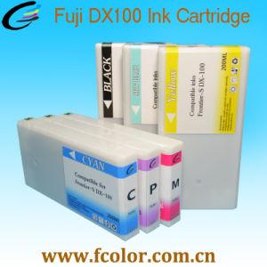 200ml는 Fuji Dx100 인쇄기 잉크 카트리지를 위한 잉크 카트리지를 대체한다