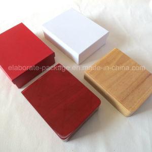Коробка ювелирных изделий Handmade высокой лоснистой картины деревянная/коробка кольца подарка