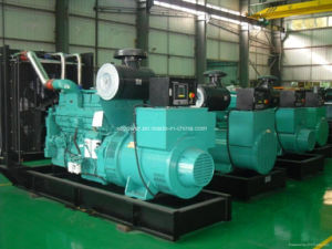 ディーゼル発電機セット(開いたか無声タイプ)のためのCummins G駆動機構のディーゼル機関Kta19-G4