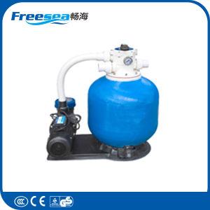 Equipamento do filtro de água da piscina