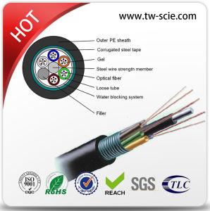 Outdoor GYTS irrecuperáveis tubo solto da antena/cabo de fibra óptica de Transferência