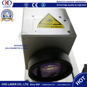 De Laser die van de vezel Machine voor het Teken van de Kleur van het Roestvrij staal merkt
