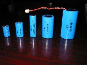 3.6V Thionyl van het 2/3AALithium de Batterij ER14335 van het Chloride Li-SOCL2