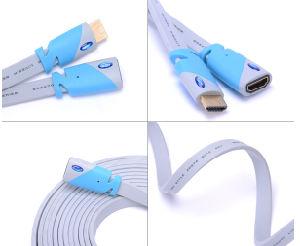 PS3 HDMIケーブルの青のための高品質