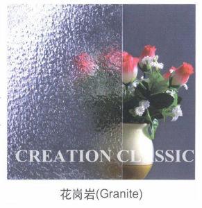 het Duidelijke Gevormde Glas van 5mm/Gerold Glas/Voorgesteld Glas/het Glas van de Kunst voor Decoratief