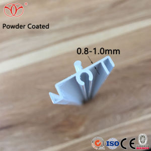 중국 제조자 양극 처리 알루미늄 밀어남 태양 프레임 단면도