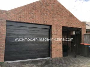 China Fornecedores Alta reforçar a porta de garagem de alumínio utilizado os portões de garagem Venda
