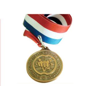 Kundenspezifisch Metal uns Amry Nordmilitärmedaille mit Drucken-Firmenzeichen für Förderung (082)