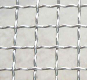 Ss 304のステンレス鋼のひだを付けられた金網