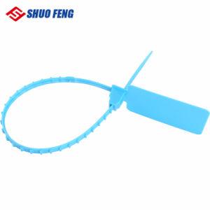 Eine Zeit-Gebrauch-Plastikverschluss-Sicherheits-Dichtung mit ISO17712