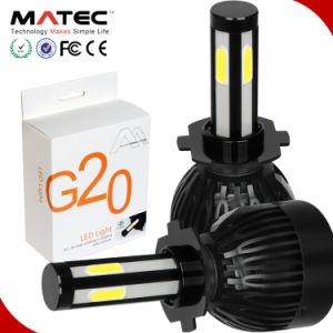 自動車部品、車LEDのヘッドライトの球根G5 G20 X6 X3 S2 C6の球根G7新しいH7 H11 9005 6000K 3000K 8000Kを冷却する9006のH4 80W 8000lmのファン
