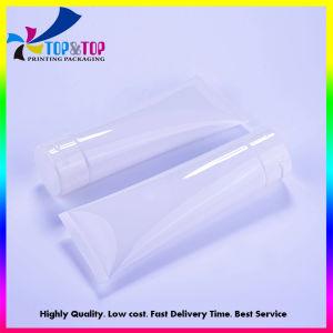 Hotel xampu tubo tubo plástico macio cosméticos embalagem plástica transparente