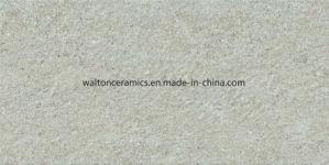Kijkt de Grijze Steen van het Bouwmateriaal de Rustieke Ceramische Tegel 300X600 van de Muur