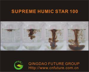 Kalium Humate van het Poeder van de Vlok van het Humusachtige Zuur van de Meststof van de Humus van 100% het In water oplosbare
