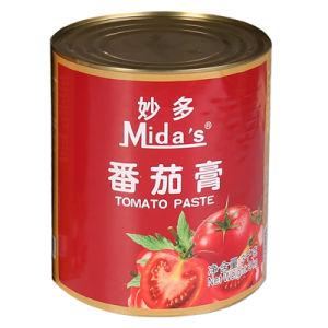 3kg de ingeblikte Tomatenpuree van de Specerij van de Saus van de Ketchup van de Puree van de Tomaat Onderdompelende