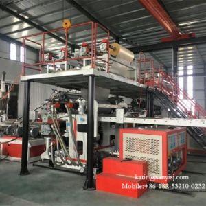 Un revêtement de sol en vinyle PVC antibactérien SPC-de-chaussée de la machine de l'extrudeuse