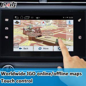 Android Market 6.0 GPS Navigator para 2014-2018 Peugeot-2008/208/508/408 com Mirrorlink Yandex Waze Google