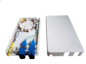 4 Caja de terminales de fibra óptica interior Caja de distribución de FTTH
