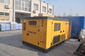 447のKwの2段階は大きい建築現場ねじ空気圧縮機を圧縮した