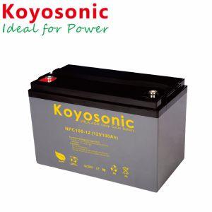 Pilha recarregável 12 volts bateria 12V 100Ah Ciclo profundo para Bateria Bateria Marinho