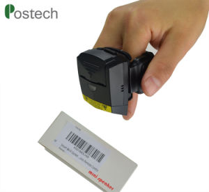 1d Scanner van de Streepjescode van de Ring van de Vinger van Bluetooth Wearable Mini voor de Industrie en Ios/Androïde /Windows met Ce/FCC/RoHS