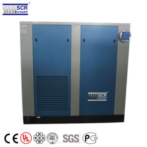Leistungsfähigkeits-Dauermagnetbewegungsschrauben-Luftverdichter Störungsbesuch-150HP
